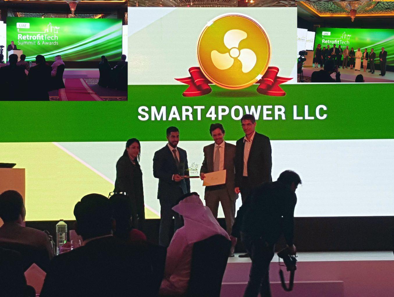 Smart4power wins big at Retrofitech awards 2017